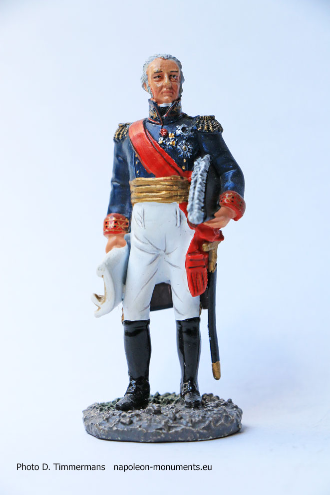 Maréchaux du 1er Empire N°138 Hachette Toy soldiers Général Cesar Berthier