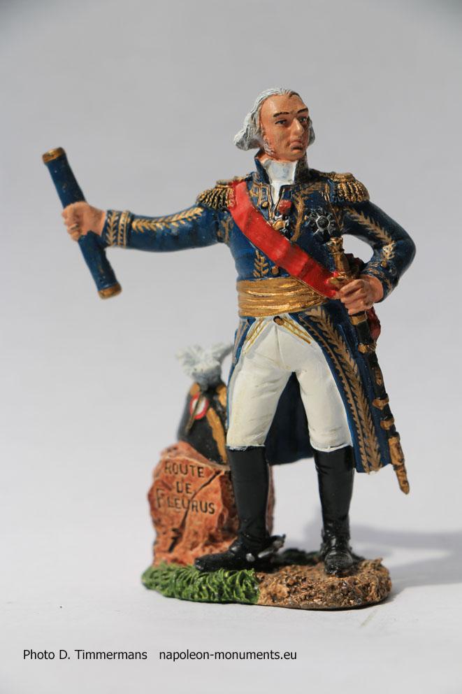 Figurine Napoléonienne  Figurine soldat de plomb 1//32 Général Sorbier 1762-182
