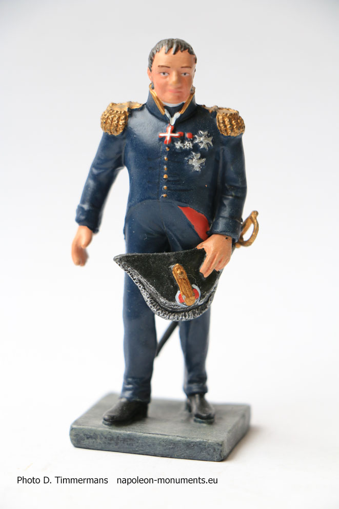 Figurine Napoléonienne  Figurine soldat de plomb 1//32 Général Valée 1773-1846