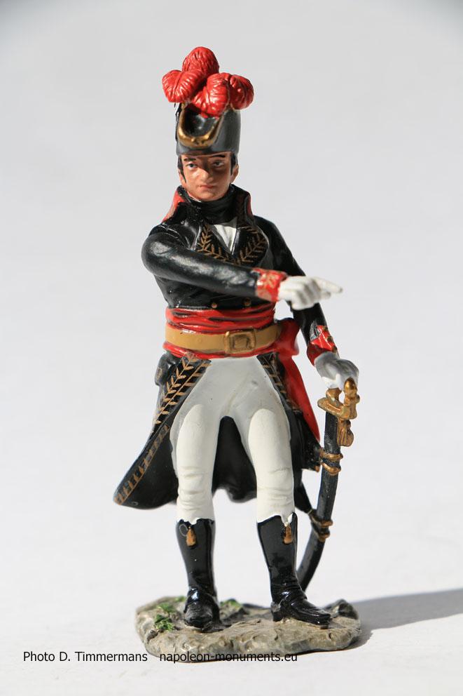 Figurine Napoléonienne  Figurine soldat de plomb 1//32 Général Saint-Germain 1761