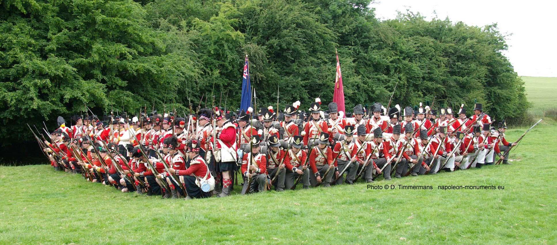 194ème anniversaire de la bataille de Waterloo 090620Waterloo019c