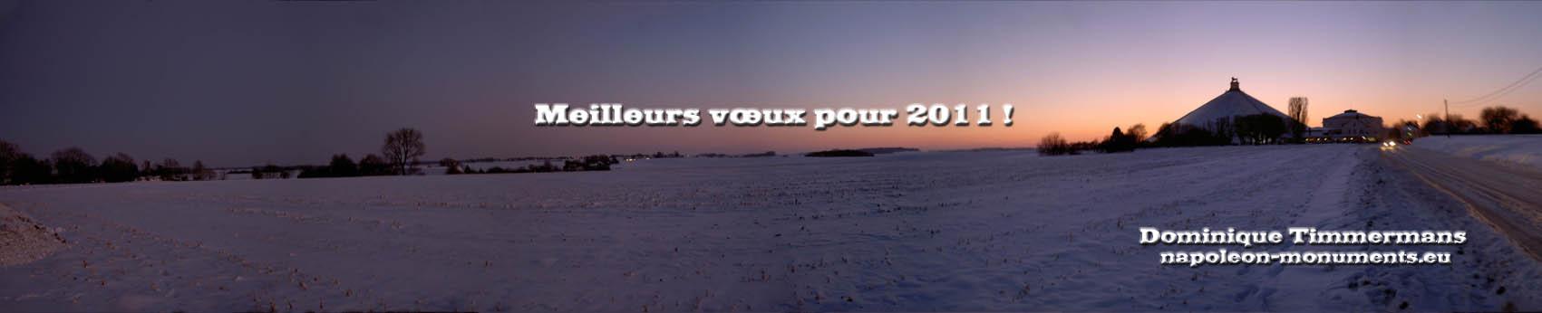 Mes meilleurs voeux pour 2011 à tous les membres des APN ! Voeux2011Nap